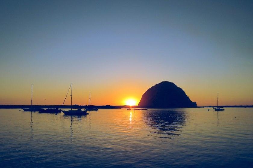 The Rock at Morro Bay, CA.